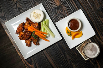 Photo: A crowd favorite: WIngs in Peach BBQ