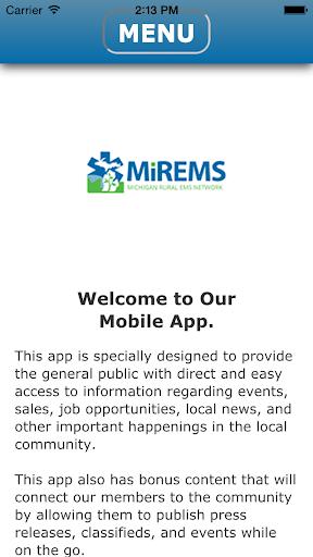 Michigan Rural EMS Network
