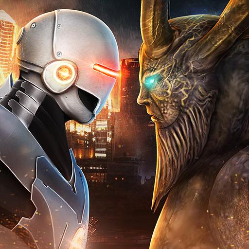 Evil Monsters vs Hero Robots