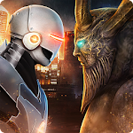 Evil Monsters vs Hero Robots Icon
