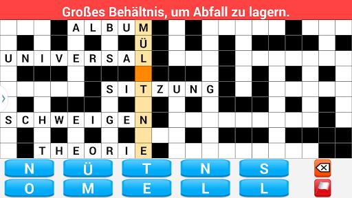Kreuzworträtsel Deutsch Adfree screenshot 5