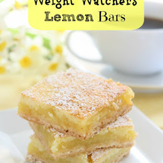 Weight Watchers Lemon Bars (3 pts.)