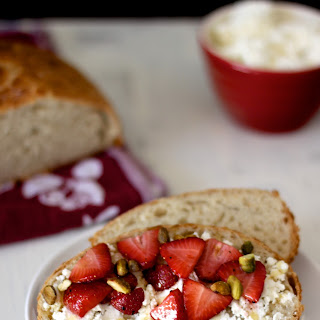 Strawberry Ricotta Toast.