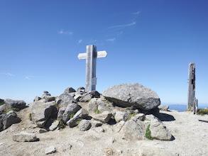 檜尾岳山頂