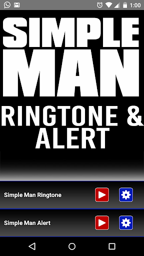 Simple Man Ringtone and Alert