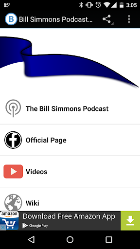 Bill Simmons Podcast Fan App