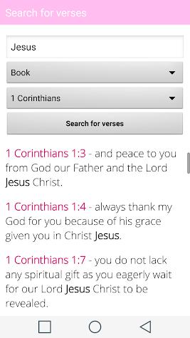 Holy Bible for Woman Offline Screenshot