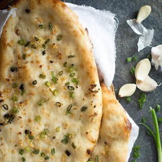 Homemade Garlic Naan.