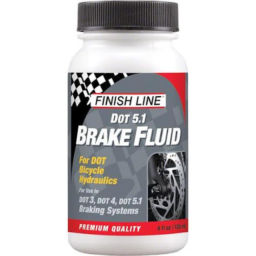 Finish Line DOT 5.1 Brake Fluid: 4oz