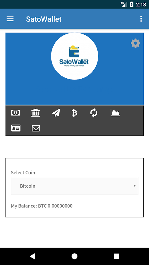 Satowallet- screenshot