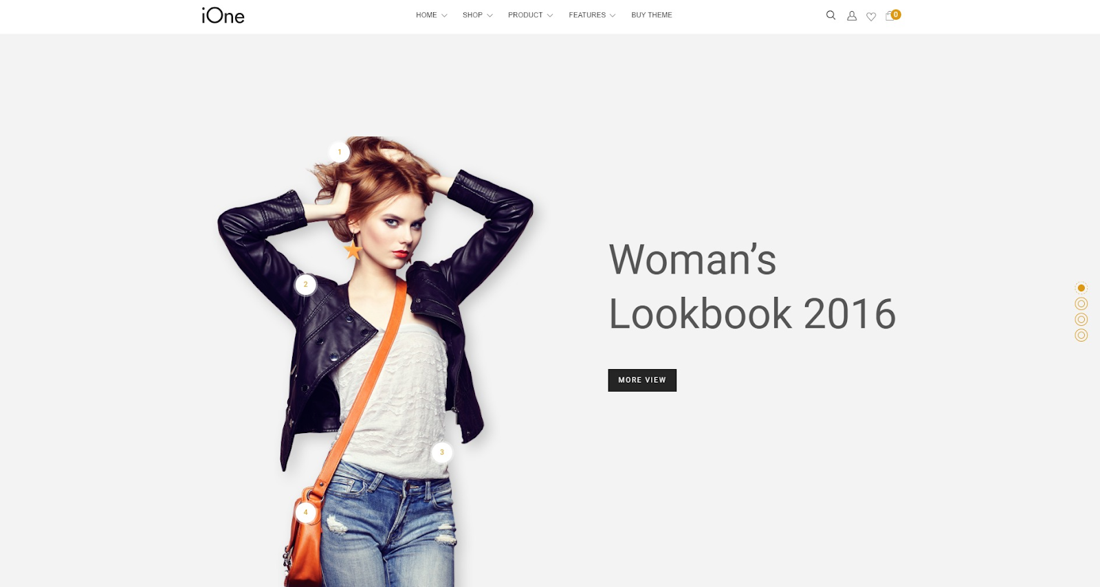 Watches magento theme ione