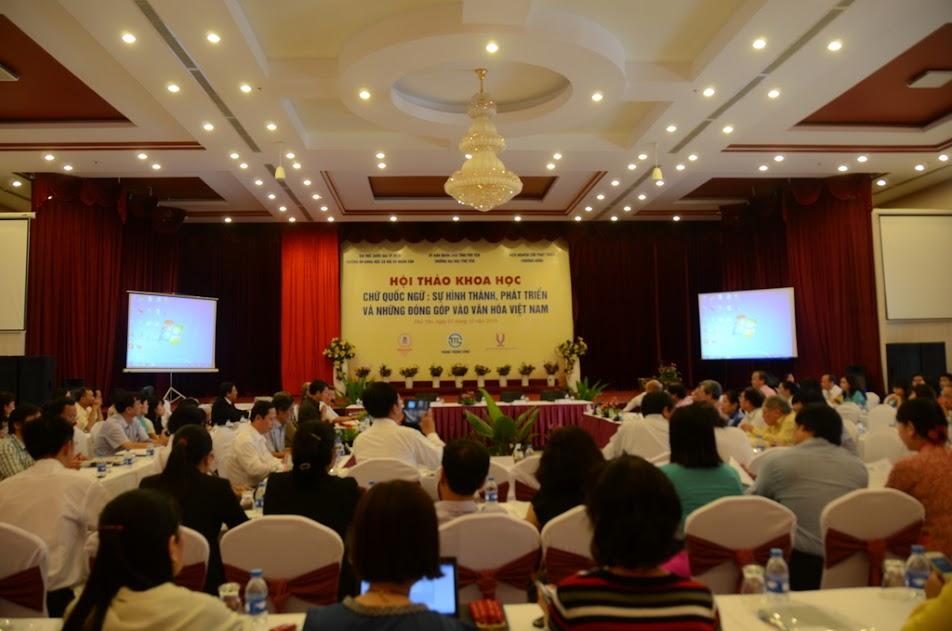 Hội thảo khoa học cấp Quốc gia: Chữ quốc ngữ: sự hình thành, phát triển và những đóng góp vào văn hóa Việt Nam