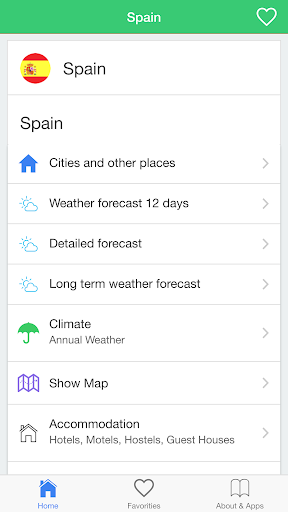 Spain weather forecast guide