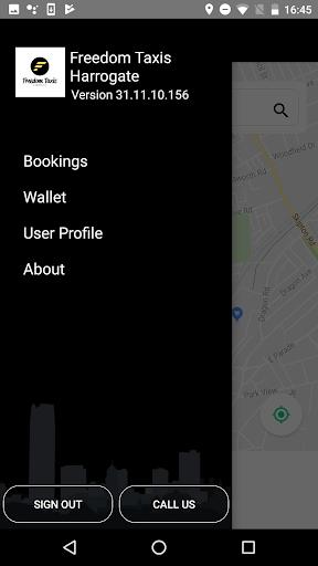 Freedom Taxis Harrogate 31.11.10.156 screenshots 1