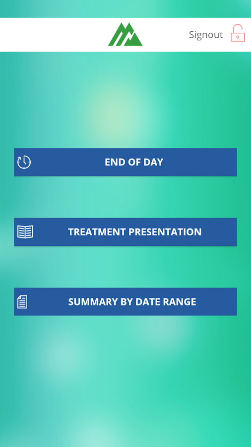 Dental Practice Monitor- screenshot