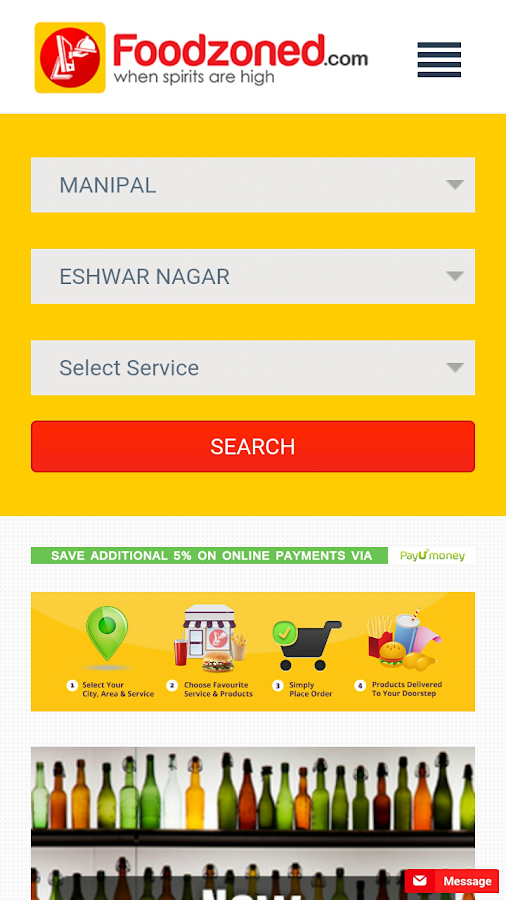 Foodzoned Online Food Ordering- screenshot