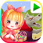 LIttle Red Riding Hood, Bedtime Story Fairytale APK icon