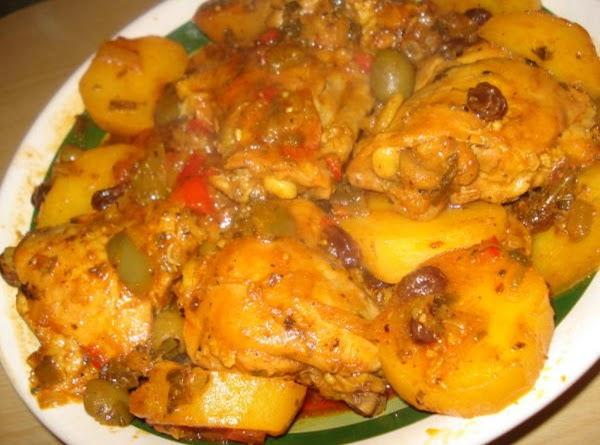 Chicken Fricasee (fricase De Pollo) Recipe