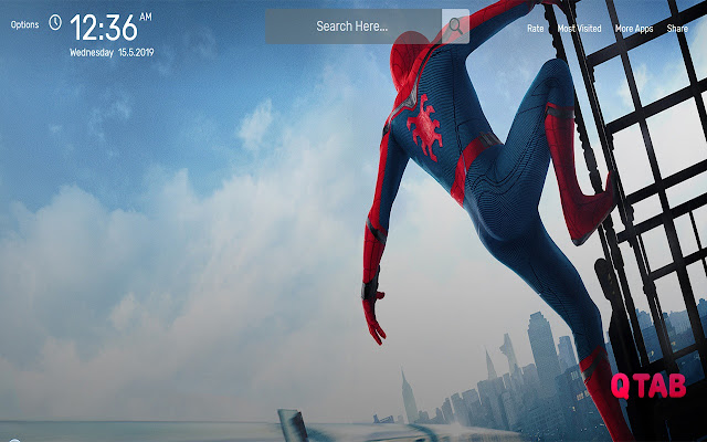 Spider-Man Far From Home Wallpapers HD Theme