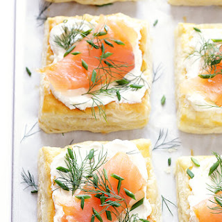 (Super-Easy!) Smoked Salmon and Cream Cheese Pastries.