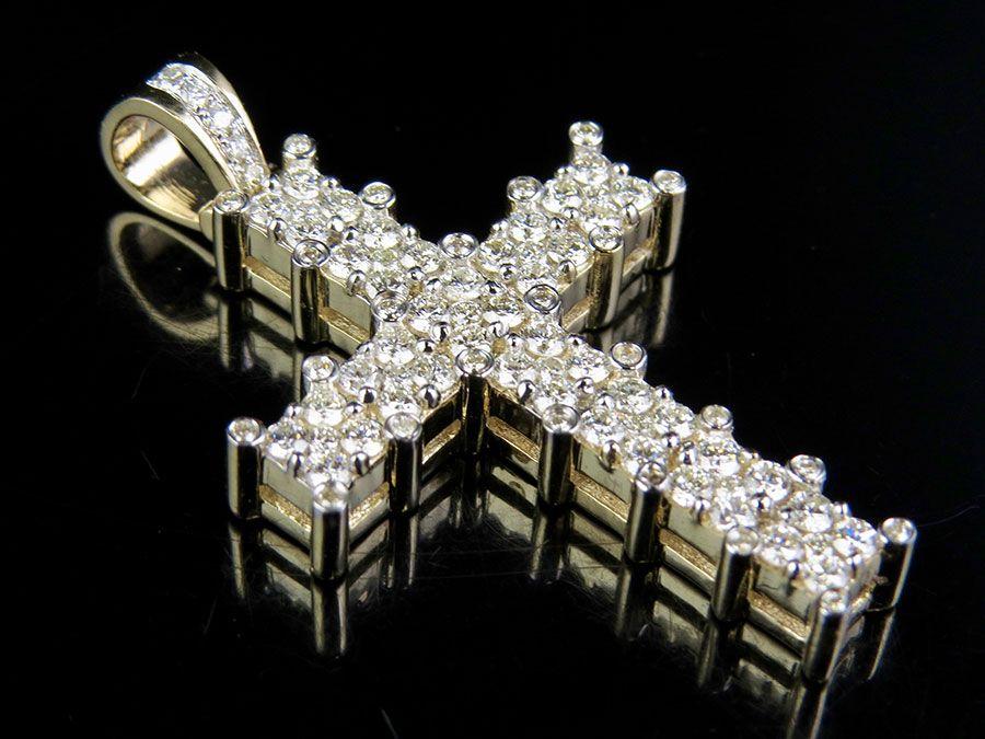 Diamond Jesus pendants