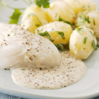 White Fish with Herby Potatoes