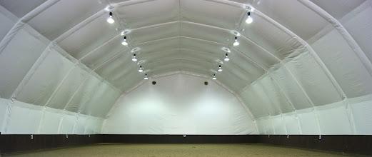 Photo: Ridehall med isolert innerduk - NG3