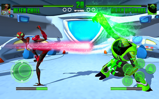 Hero Alien Force Arena Attack Mega Transform War apkmr screenshots 3