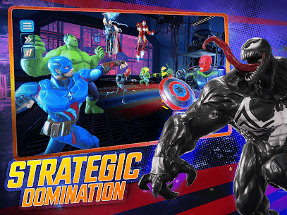 MARVEL Strike Force Mod Apk – Squad RPG 9