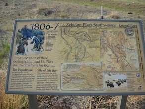 Photo: Pike came through here and over Medano Pass in January 1807--into the arms of the Spanish in the San Luis Valley