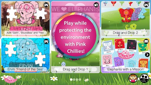 Pink Chillies: Elephant World