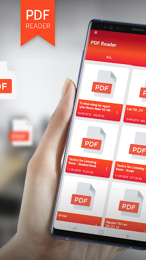 PDF Reader - PDF Viewer for Android new 2019 android2mod screenshots 1