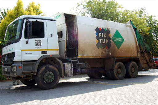 Pikitup truck. File photo.