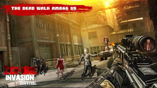 US Police Zombie Shooter Frontline Invasion FPS 1.2 screenshots 1