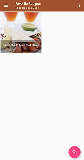 Screenshot 3 Food Recipes Book