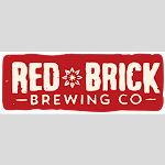 Logo of Red Brick Laughing Skull White