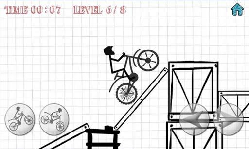 玩免費體育競技APP|下載特技自行車 - 火柴人挑戰賽 app不用錢|硬是要APP