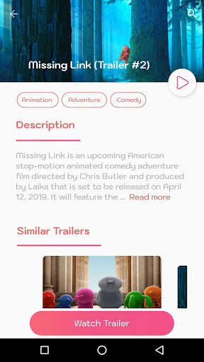 Trailers Now (Movie Trailers) 1.5.9 screenshots 3