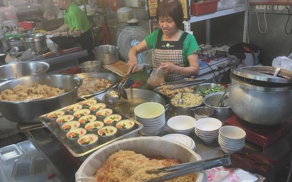 武廟市場裡的什菜湯