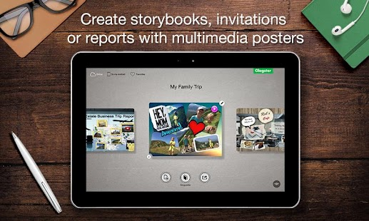 Glogster - Multimedia Posters- screenshot thumbnail
