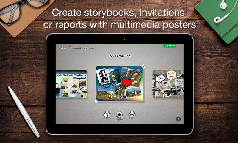 Glogster - Multimedia Posters- screenshot