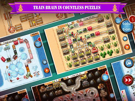 Rail Maze 2 : Train puzzler  gameplay | by HackJr.Pw 7