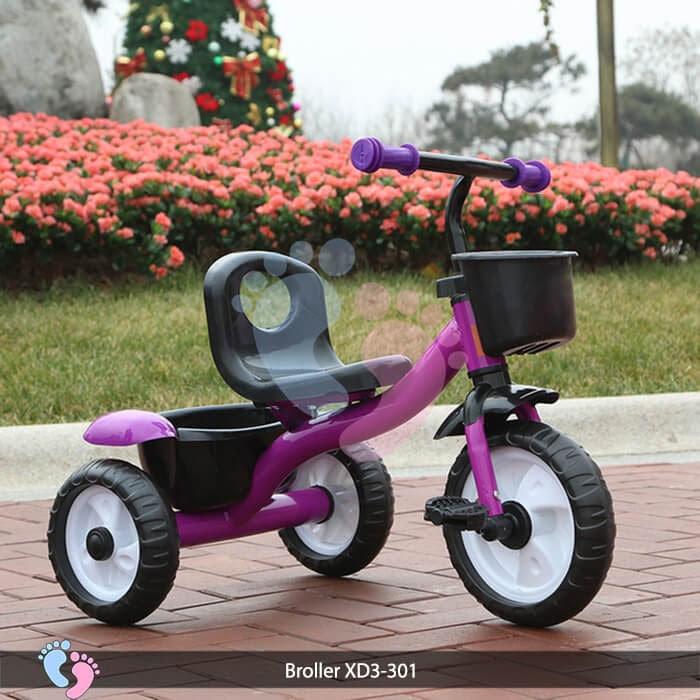 Xe đạp ba bánh trẻ em Broller XD3-301 9