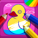 Kids Coloring Book - Free 250+ Kids Coloring Pages icon