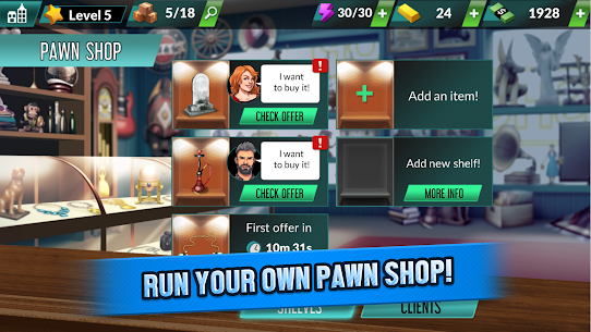 Bid Wars Pawn Empire MOD APK 1.29 [Unlimited Money] 2