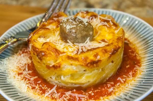 Pasta Essentials: Pasta & Meatball Cupcakes Recipe