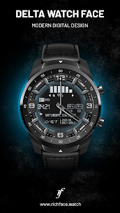 Delta Watch Face – MOD + APK + DATA Download 2