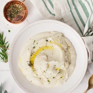 Cauliflower-Parsnip Mash with Roasted Garlic Recipe