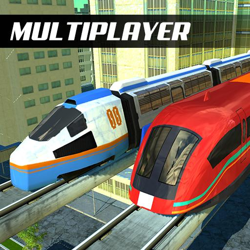 Racing in Train -  Euro Games