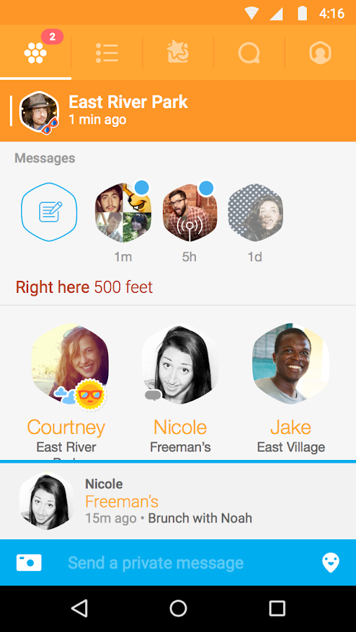 Swarm by Foursquare- screenshot